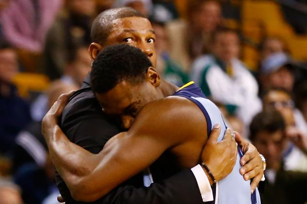 Tony Allen: Celtics 'Missing a Lot of Pieces'