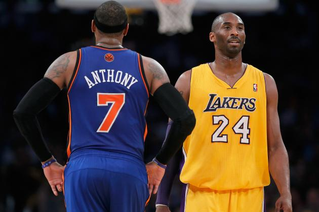 Carmelo Anthony and Kobe Bryant Prove Scoring Less Is More