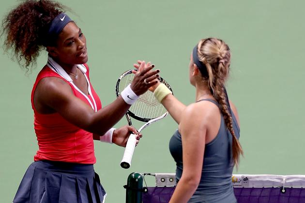 Serena Sets Up Semi with Azarenka