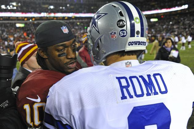 RGIII Tells Tony Romo to Ignore Critics, and More NFC East News