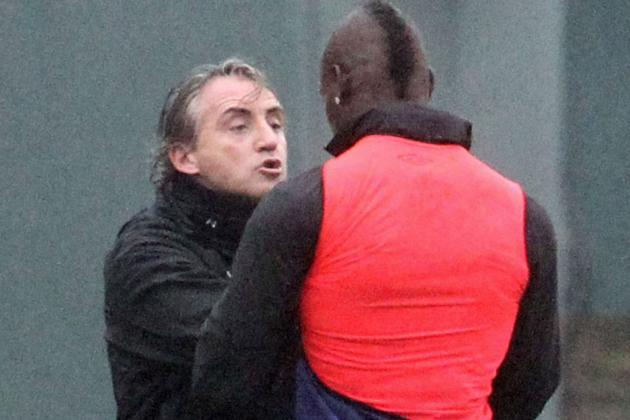 Mario Balotelli and Roberto Mancini Separated Following Altercation