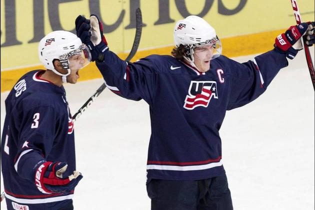 2013 IIHF World Junior Championships: USA & Sweden Reach Gold Medal Game