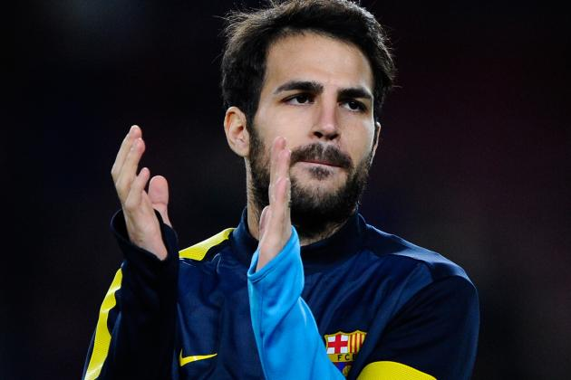 Cesc, Adriano and Song Declared Fit After First Full Session of 2013
