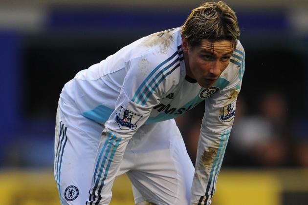 Chelsea Boss Rafael Benitez Says Fernando Torres Needs a Rest