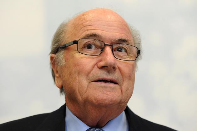 Blind Blatter Gives American Soccer a Tongue Lashing
