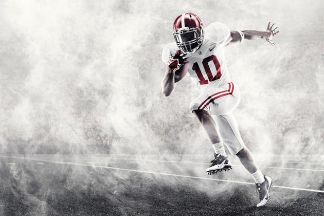 Crimson Tide to Play for BCS Title in Nike's Most Innovative Uniform System