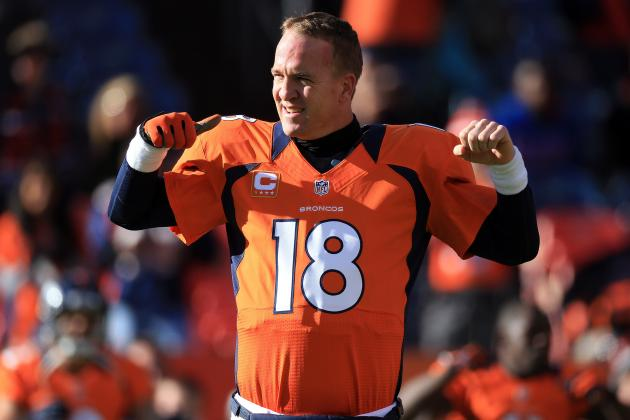 Peyton Manning Is December's AFC Offensive Player of the Month