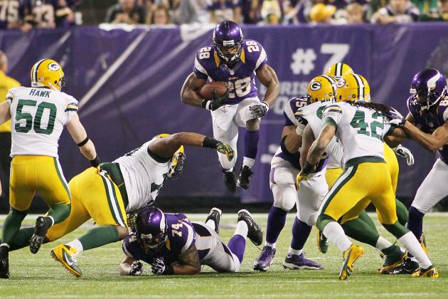 Vikings Need to Keep Peterson Away from Field Goals and More NFC North News