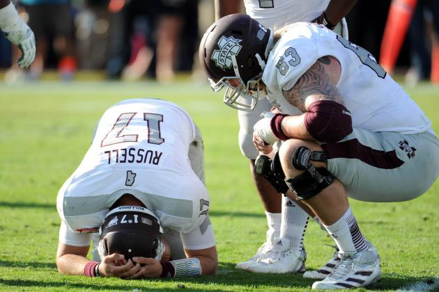Russell's Worst Day Dooms Miss State in Gator Bowl