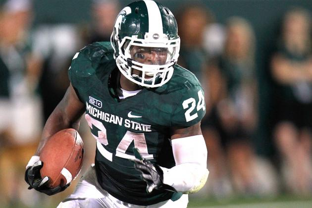 Michigan State Star Le'Veon Bell Will Declare for NFL Draft