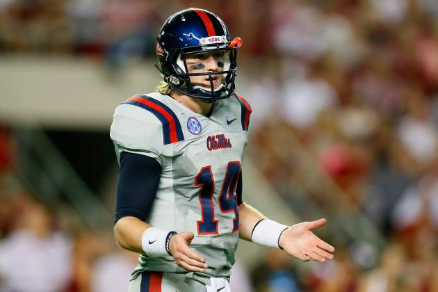 Frigid Temps Rankle Ole Miss' Quarterbacks