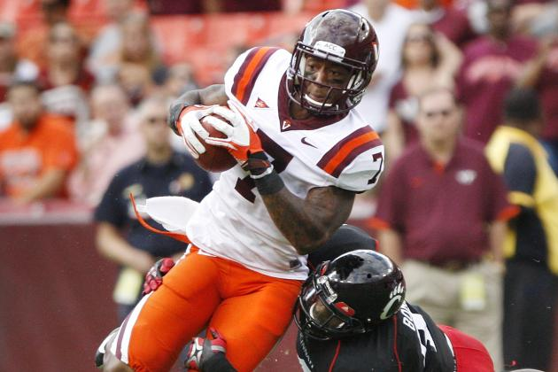 Five Hokies Accept Invitations to NFL Scouting Combine