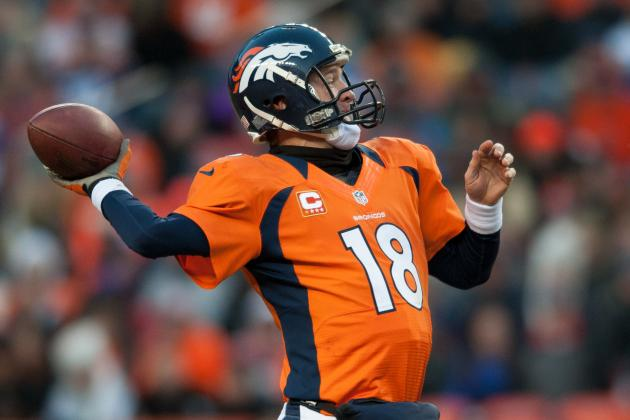 Peyton Manning Ties Mark for Player of Month Awards