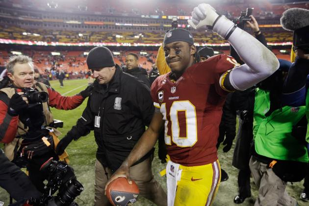 Why Robert Griffin III Has to Be the Offensive Rookie of the Year