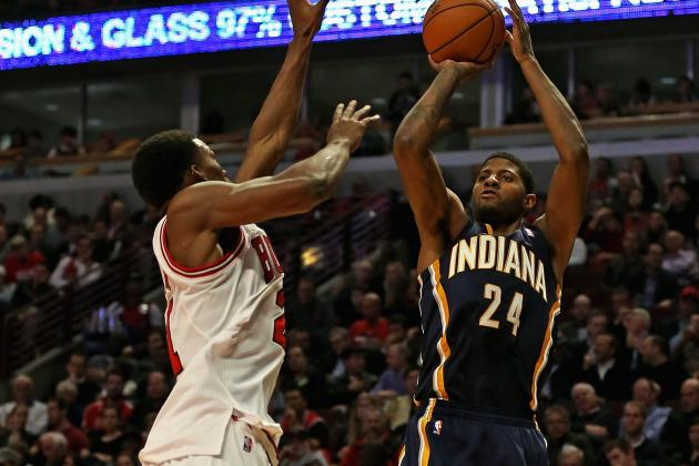 Paul George Does It All for Indiana Pacers