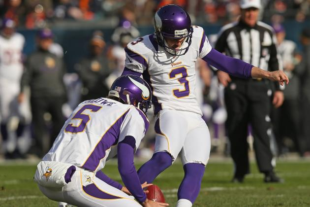 Blair Walsh Wins NFC Special Teams Player of Month