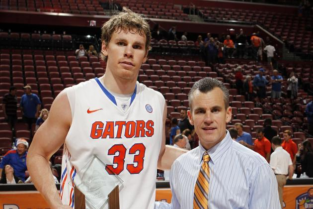 UF Men's Basketball Ranked No. 13/9 Nationally