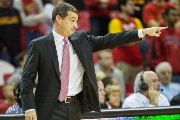 Mark Turgeon, Bino Ranson Check out Dwayne Morgan, Phil Booth