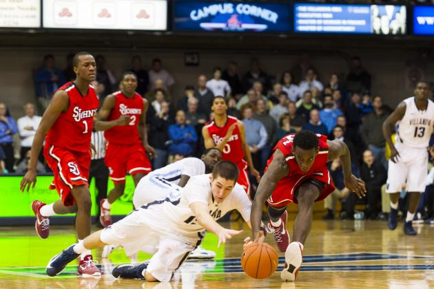 Arcidiacono and Pinkston Help Wildcats Stymie St. John's in Overtime 98-86