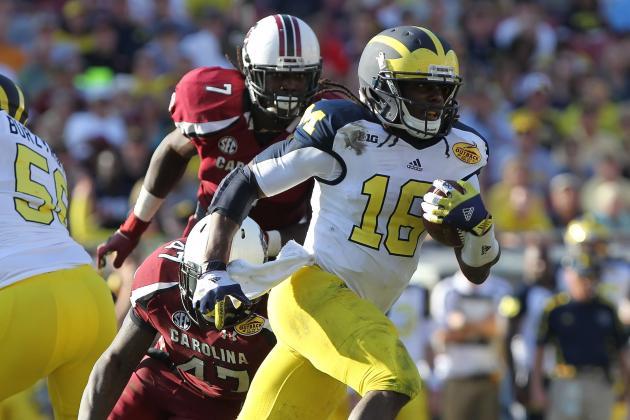 Michigan Football: Wolverines Fans Should Thank Denard Robinson for Thrills