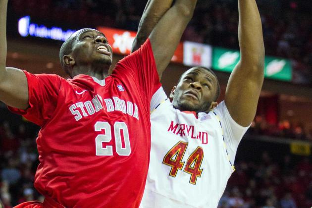 Shaquille Cleare Coming on for Terps