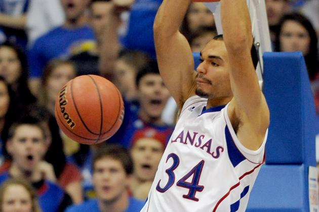 Kansas PF Perry Ellis Flashes Potential