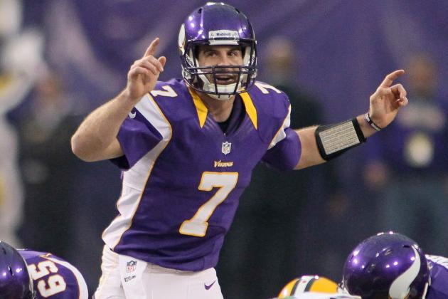 Christian Ponder Will 'Do Everything He Can' to Play with Sore Elbow