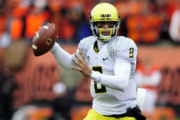 Fiesta Bowl Win Could Tie for Highest Final Ranking in Oregon History