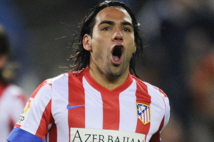 Atletico Madrid Reject Stories of Striker Radamel Falcao Moving to Real Madrid