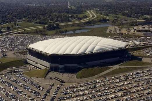 Silverdome Roof Deflated, Will Be Rebuilt with Solar Panels