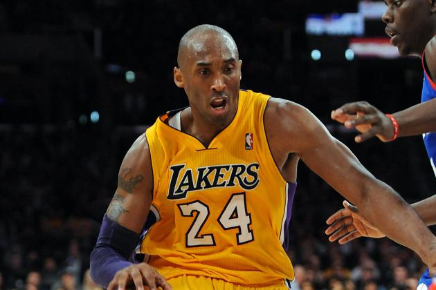 Kobe Bryant Holds Lead over LeBron in Third All-Star Returns