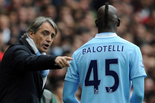 Mario Balotelli and Roberto Mancini Both Come out of This Fracas Badly