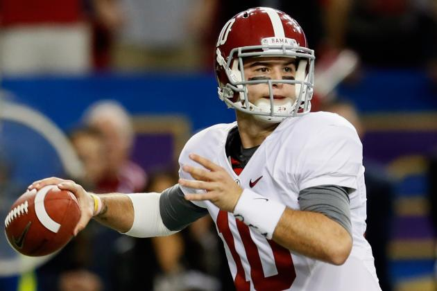 AJ McCarron Understands, Respects His Place in Alabama History