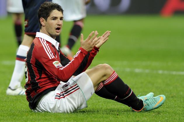 AC Milan Reportedly Agrees to Send Alexandre Pato to Corinthians