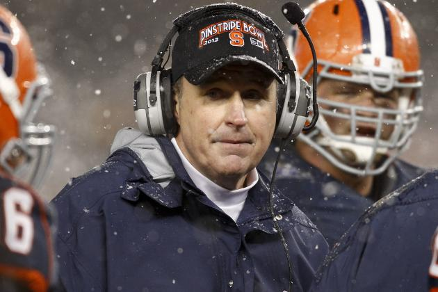 Syracuse Football Recruits Told Coach Doug Marrone Hasn't Interviewed for NFL