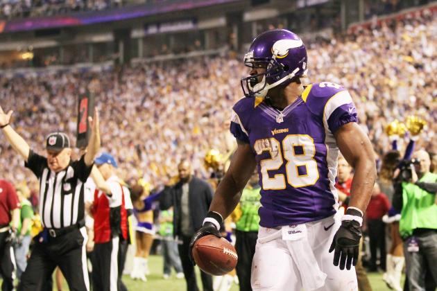 Adrian Peterson Can Break a Different Dickerson Record on Saturday