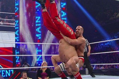WWE: Unreal Feats of Strength by Antonio Cesaro Make the Sky the Limit