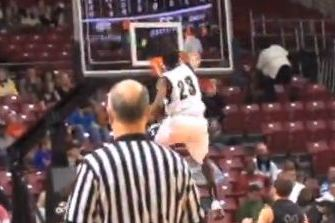 High School Sophomore Somehow Ended Up Above the Rim on This Dunk