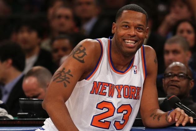 Marcus Camby to Start for Knicks as They Go Big vs. Spurs