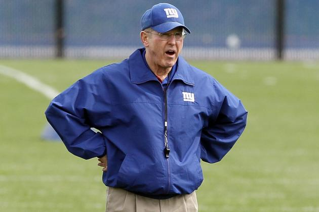 Coughlin Walking Around 'like a Crazy Man' Coping with Giants Finish