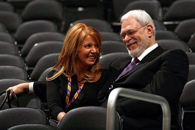 Lakers' Jeanie Buss and Phil Jackson Engaged According to Ecstatic Buss Tweet