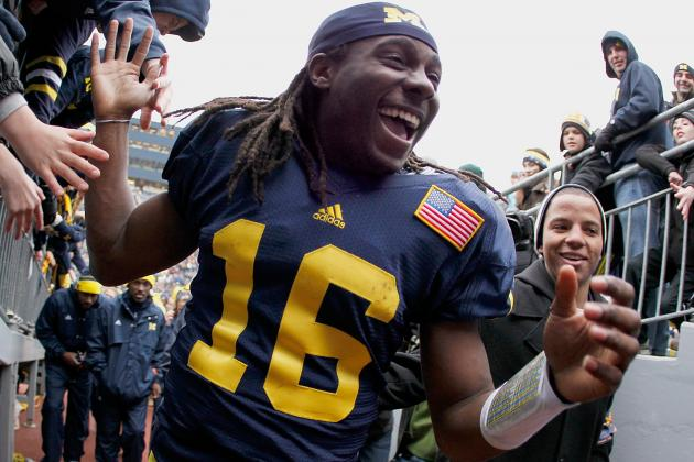 Michigan Football: What Should Denard Robinson's Legacy Be?