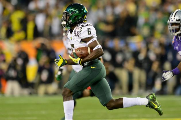 Oregon vs. Kansas State: Big Game Makes De'Anthony Thomas 2013 Heisman Contender