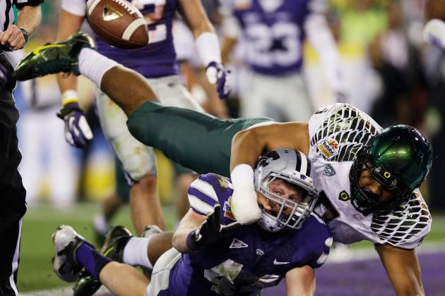 Oregon Scores on the Rarest of All Plays, a One-Point Safety (VIDEO)