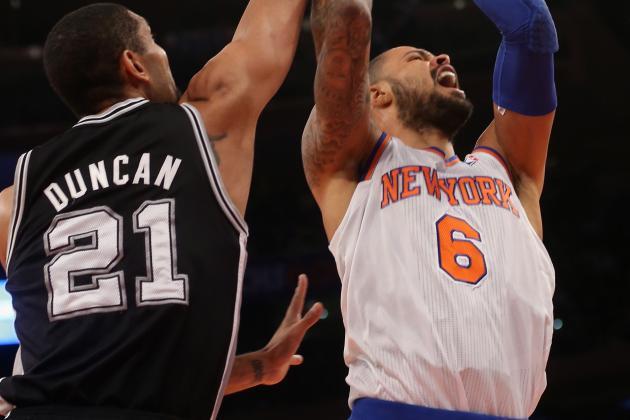 Knicks' Defense Reawakens Against Depleted Spurs
