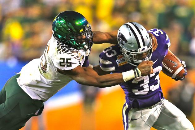 Fiesta Bowl 2013: Oregon's Defense True Reason Ducks Dominate Kansas State