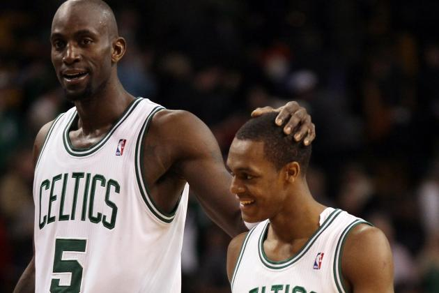 Rondo, KG Still on Pace to Start All-Star