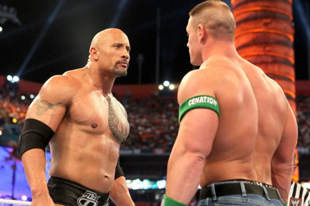 WWE's Top Story of 2012: The Rock vs. John Cena; Once in a Lifetime