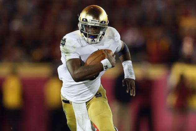 Notre Dame's Golson Says He's Ready for Big Stage