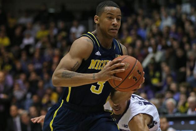 Burke, Hardaway Lead Michigan Past Wildcats